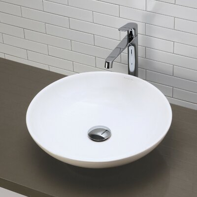 Ryenne Classically Redefined Circular Vessel Bathroom Sink