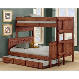 Harriet Bee Arrellano Stackable Bunk Bed with Trundle
