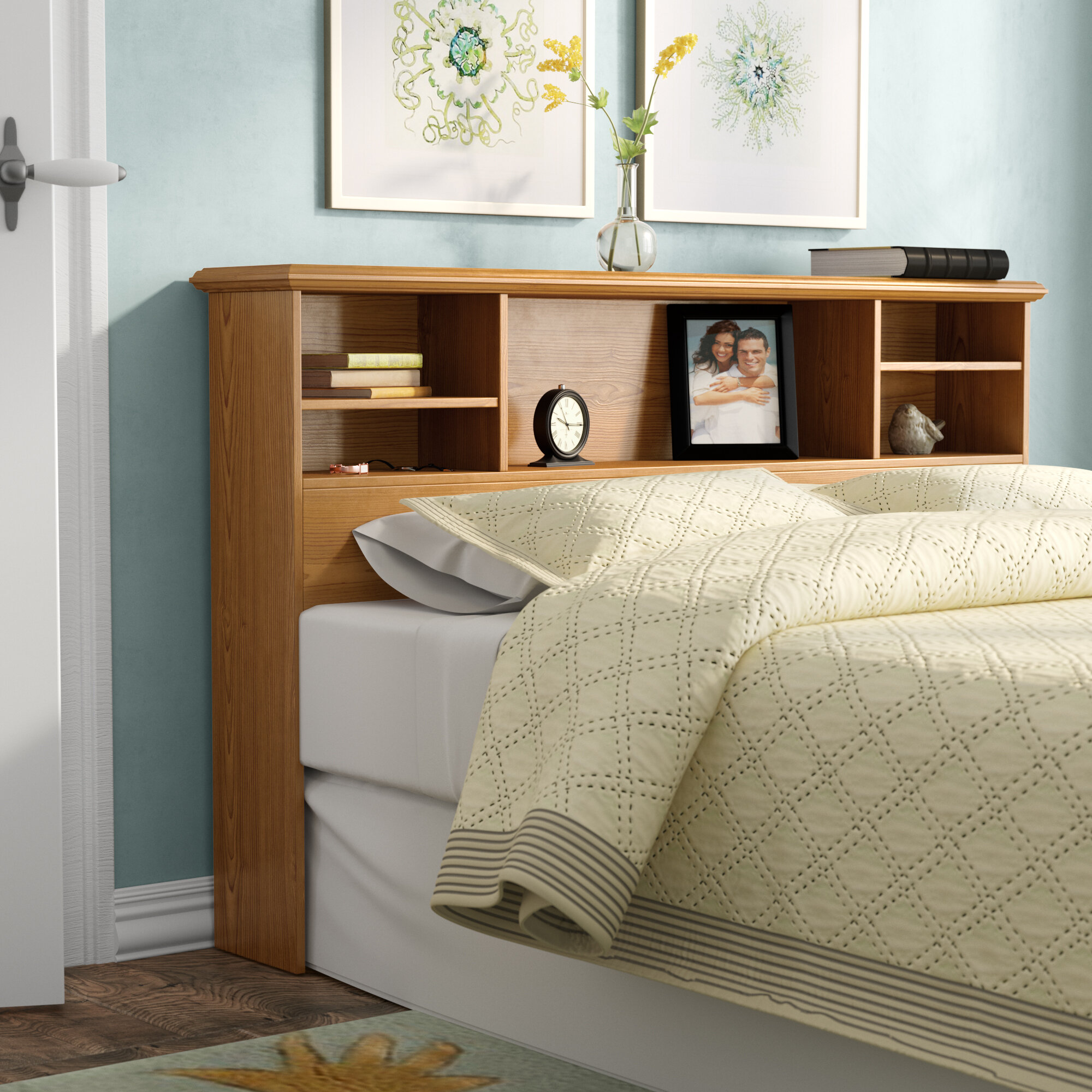 Bookcase Wood Headboards You Ll Love In 2020 Wayfair