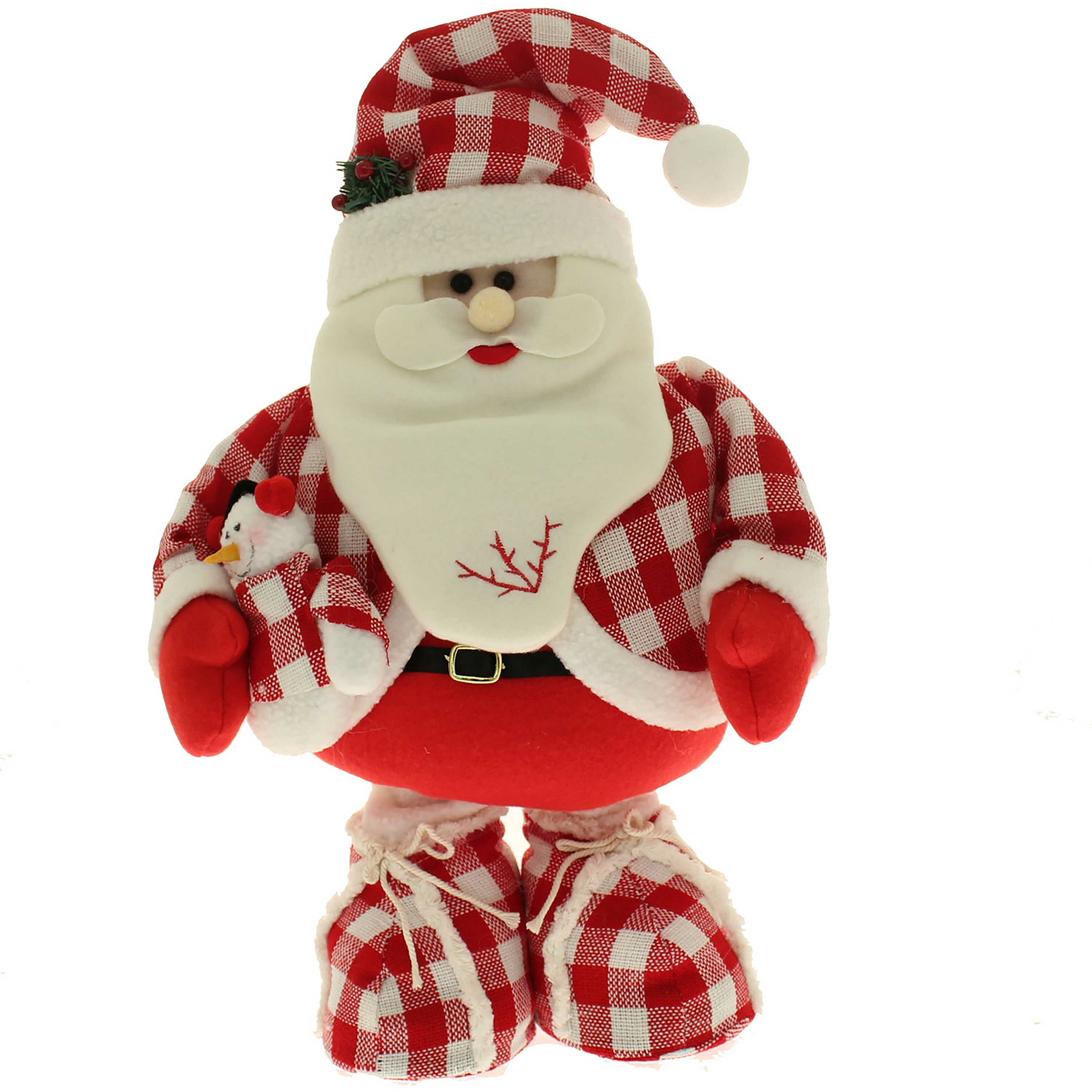 the seasonal aisle free standing christmas santa floor extendable legs decoration wayfaircouk