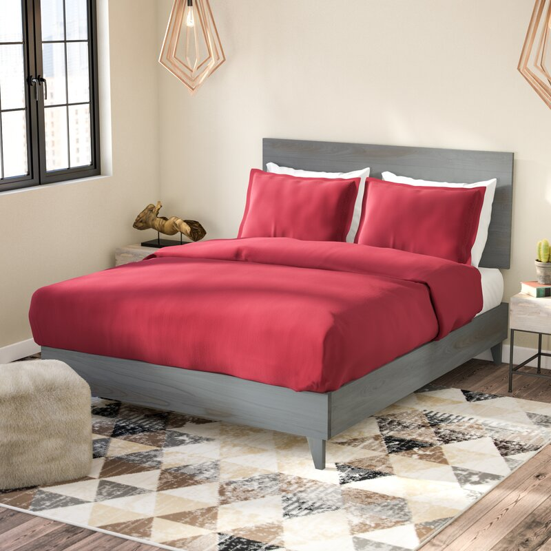 Union Rustic Alayna Industrial Platform Bed & Reviews | Wayfair