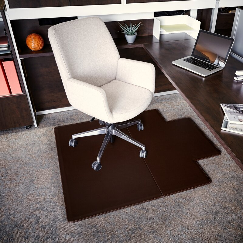 chair mat with lip. Executive Leather Chair Mat With Lip E