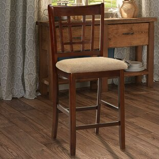 Jerad Wooden 24 Bar Stool (Set of 2) by Winston Porter
