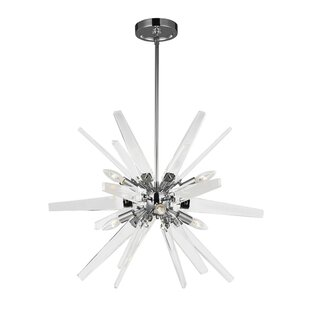 Union Rustic Tomohon 6-Light Sputnik Chandelier
