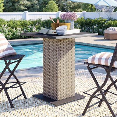 Rochford Bar Table by Sol 72 Outdoor Sale