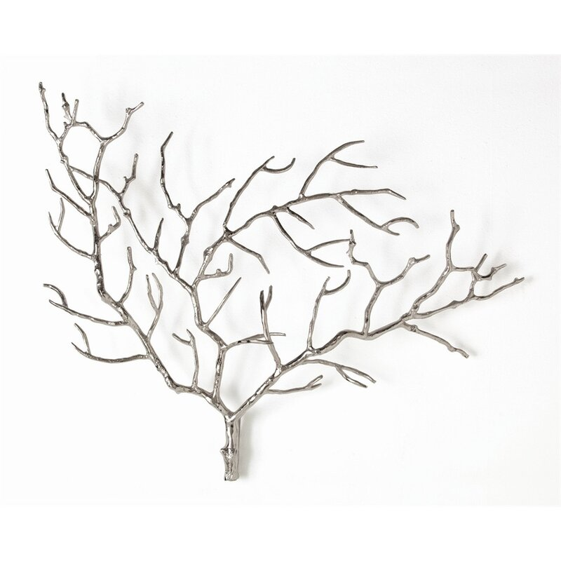 Metal Tree Branch Wall Décor