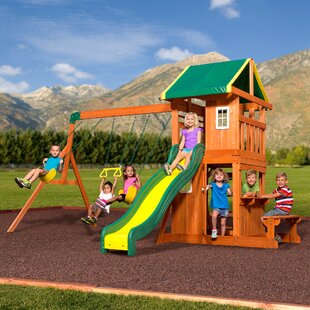 Wood Swing Sets You Ll Love Wayfair