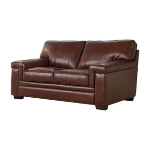 Cabott Leather Loveseat