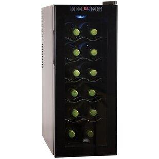 Black + Decker 12 Bottle Single Zone Freestanding Wine Cooler