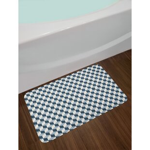3D Retro Bath Rug by East Urban Home