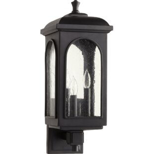 Compare prices Pelletier 3-Light Outdoor Sconce By Gracie Oaks