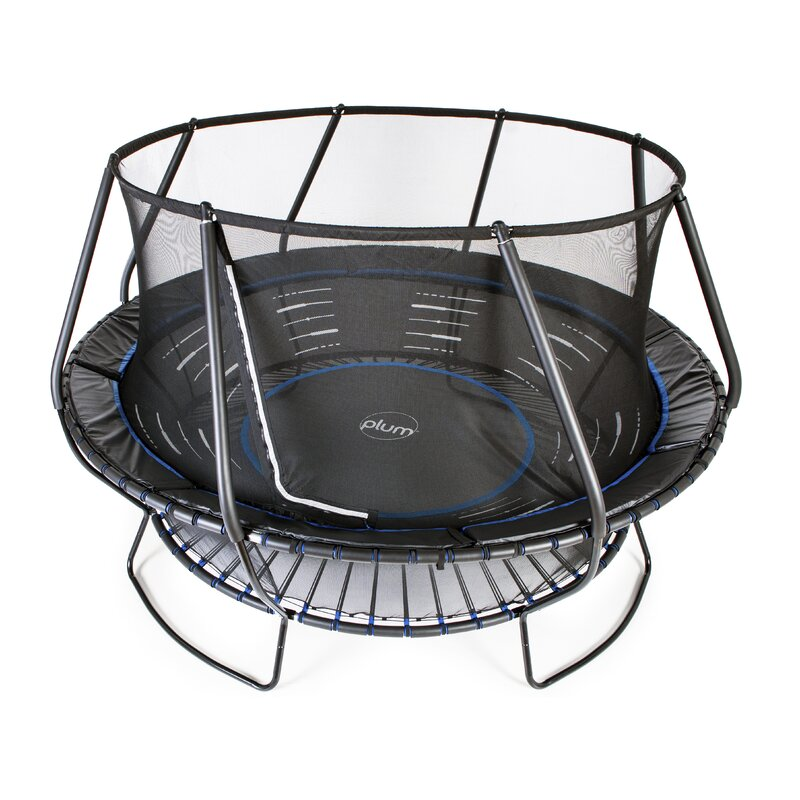 15' Round Backyard Trampoline with Safety Enclosure