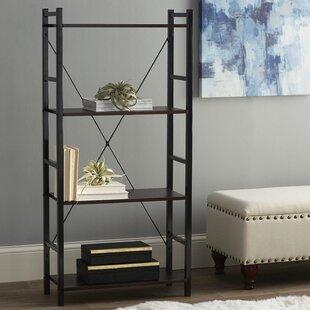 Zipcode Design Dark Walnut Etagere Bookcase