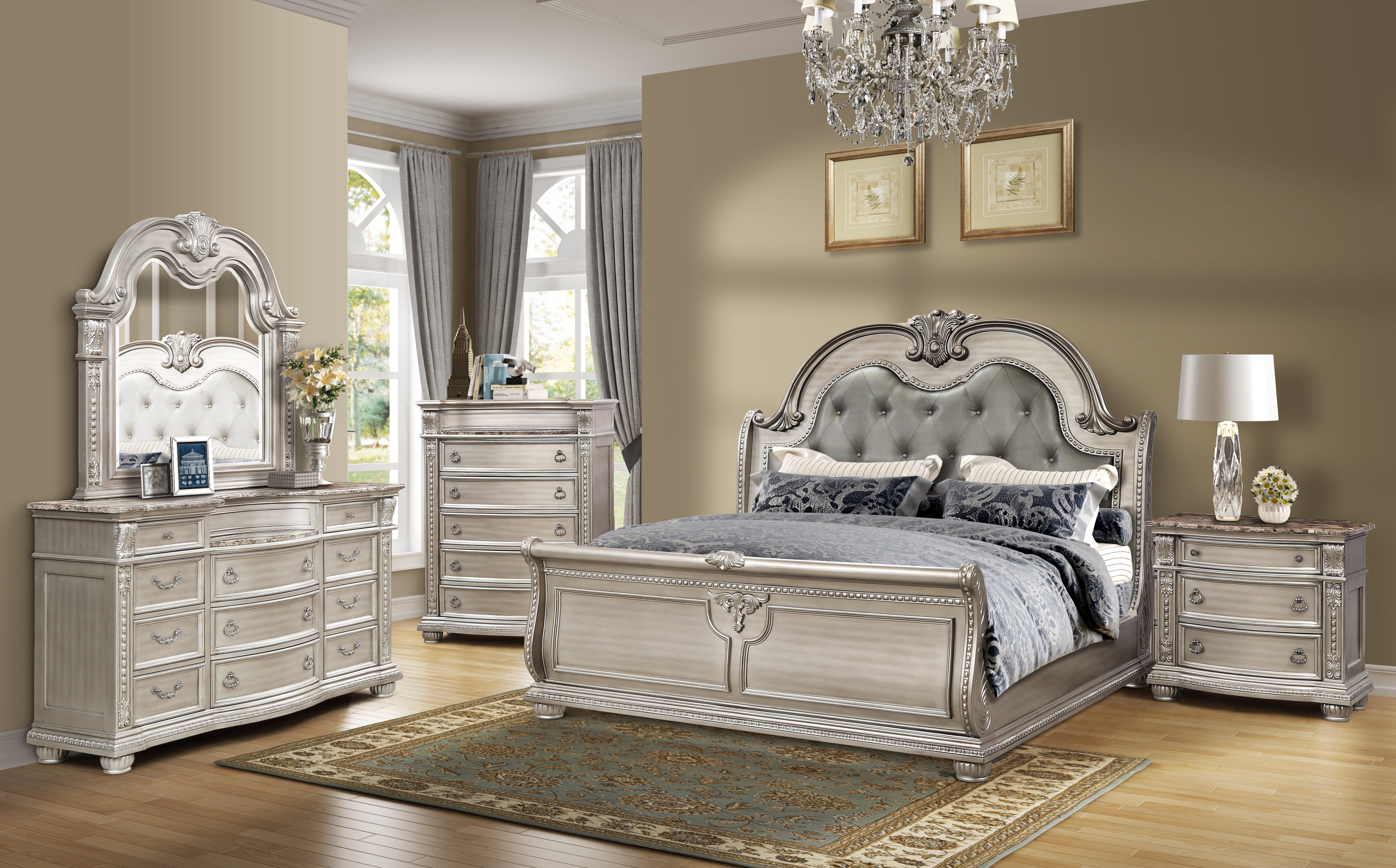 Morven Queen Standard 3 Piece Bedroom Set
