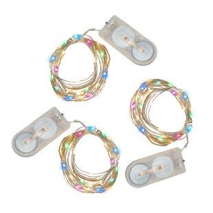 LumaBase Mini 6.33 ft. 60-Light Fairy String Lights (Set of 3)