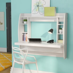 Cushing Floating Desk by Latitude Run Spacial Price