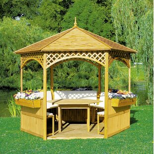 Palma 3m X 3m Wood Gazebo By Sol 72 Outdoor