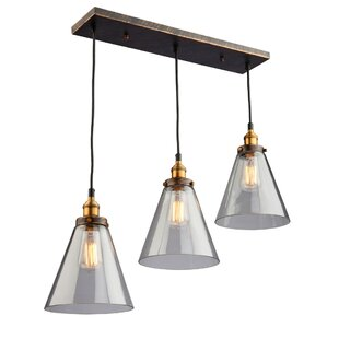 Farheen 3-Light Pendant by 17 Stories