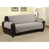 Reversible Microfiber T-Cushion Sofa Slipcover by Winston Porter