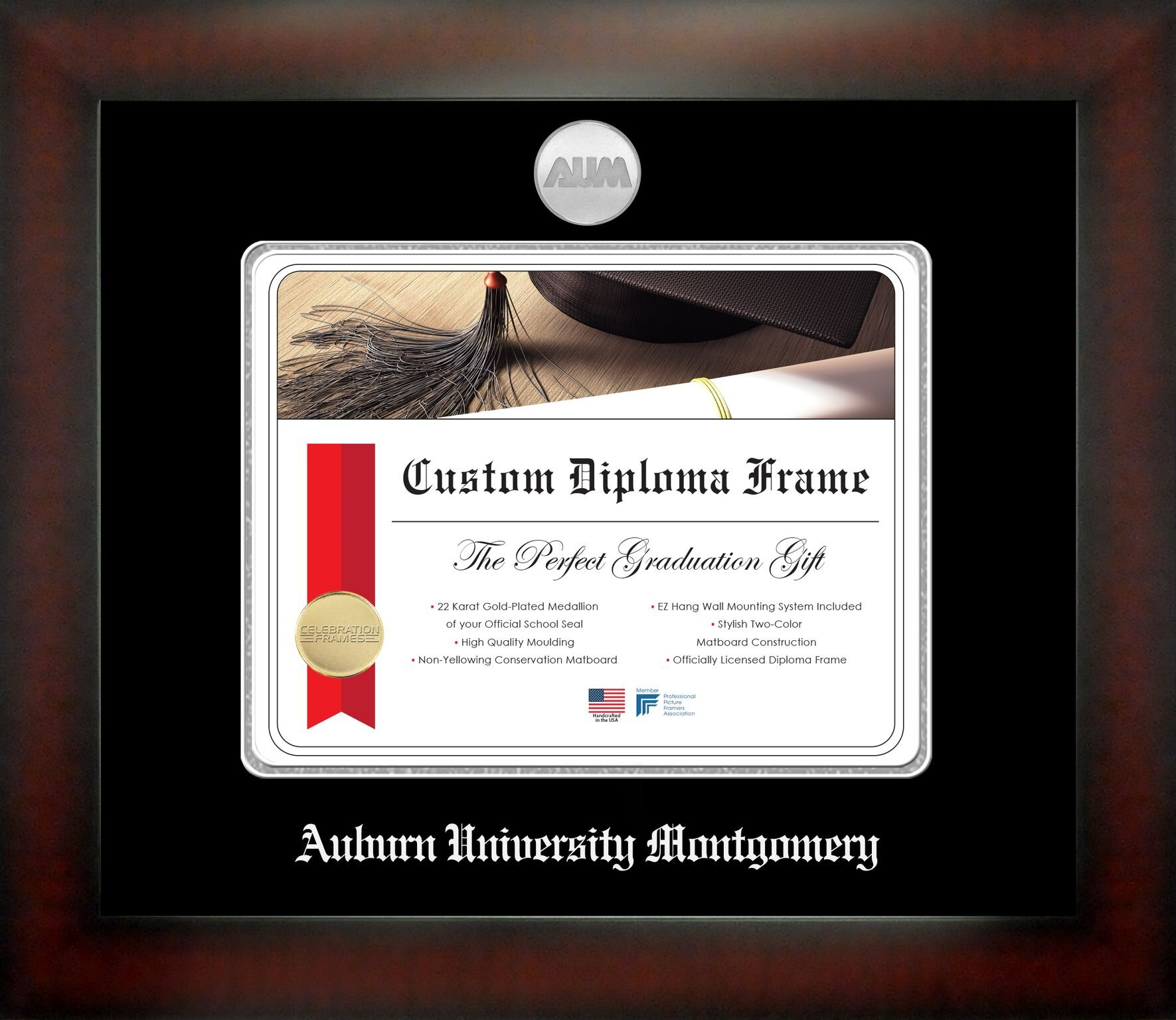 Campus Images Auburn University Montgomery Picture Frame Wayfair