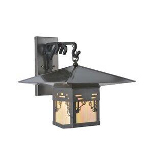 Buying 1-Light Outdoor Wall Lantern By Meyda Tiffany