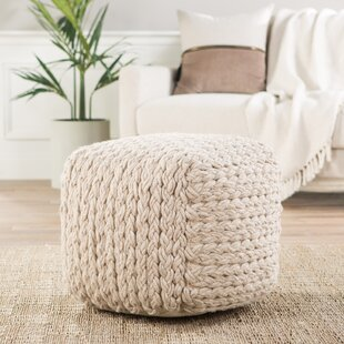 Hephzibah Pouf by Laurel F..