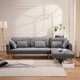 Gleeson Twin or Smaller 70 Cushion Back Convertible Sofa by Corrigan Studio®