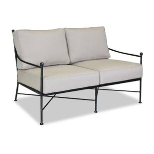 Provence Loveseat with Cushion by Sunset West