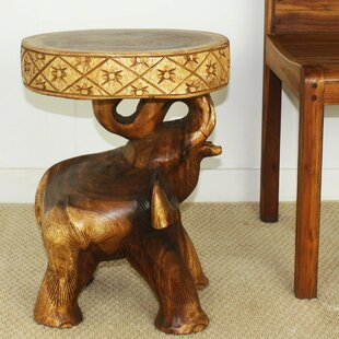 Daub Elephant Chang End Table