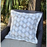 Sunapee Indoor / Outdoor Geometric Throw Pillow