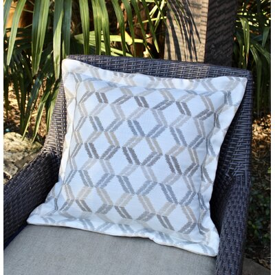 Sunapee Indoor / Outdoor Geometric Throw Pillow by Red Barrel Studio Sale
