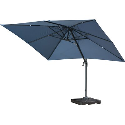 Boracay 10 Square Cantilever Umbrella by Sol 72 Outdoor Today Sale Only