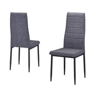 Ebern Designs Nuss Upholstered Dining Chair (Set of 2)