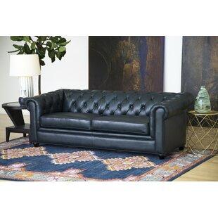 Tan Leather Sofa | Wayfair