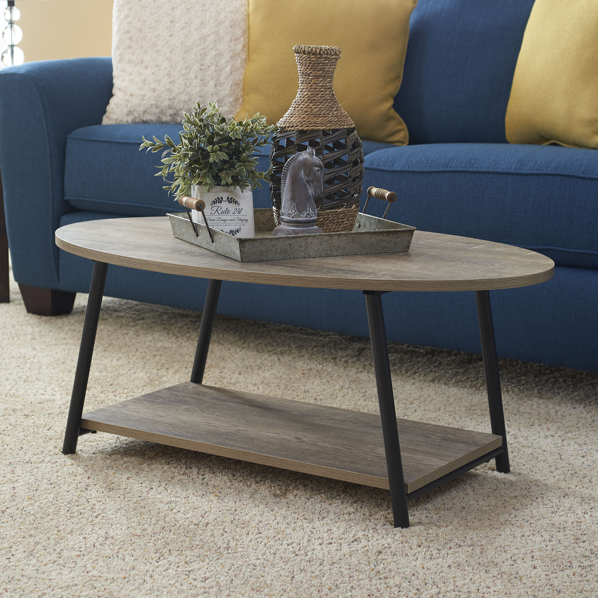 Oval Coffee Tables Free Shipping Over 35 Wayfair