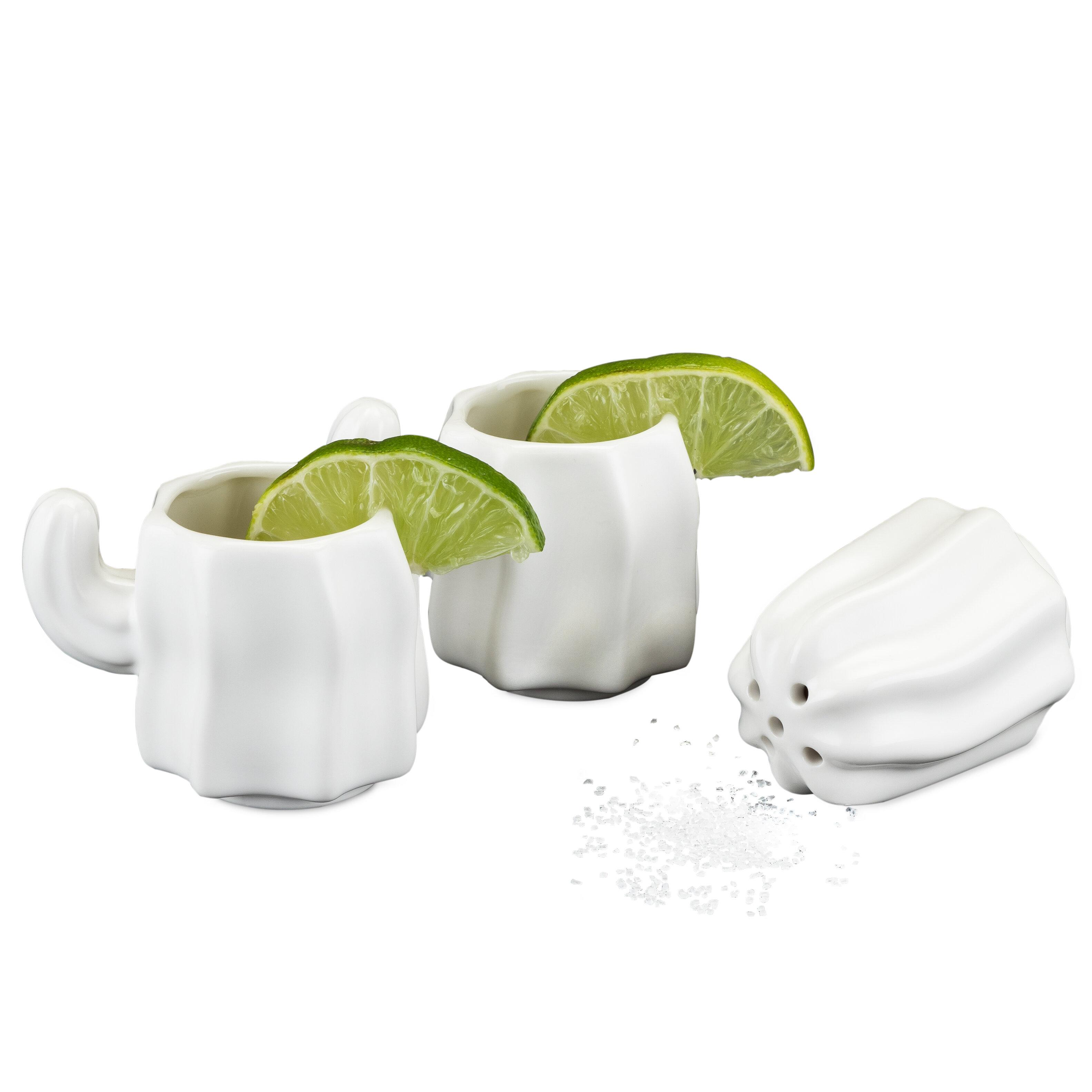Foster Rye 3 Piece Ceramic Stacking Cactus Salt Shaker Set Wayfair