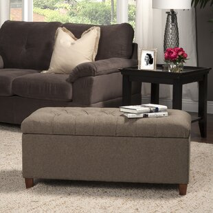 Halvorson Upholstered Storage Bench Andover Mills