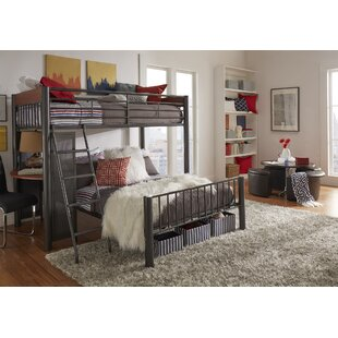 Lesa Twin Over Full L Shaped Bunk Bed