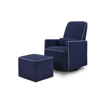 Pleasing Barnwell Swivel Glider And Ottoman Reviews Birch Lane Lamtechconsult Wood Chair Design Ideas Lamtechconsultcom