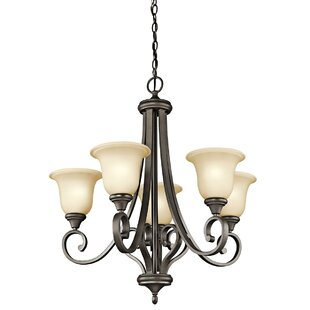 Red Barrel Studio Bretton 5-Light Shaded Chandelier