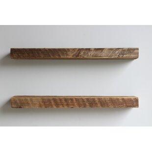 Floating Poplar Wall Display Shelves You Ll Love In 2021 Wayfair