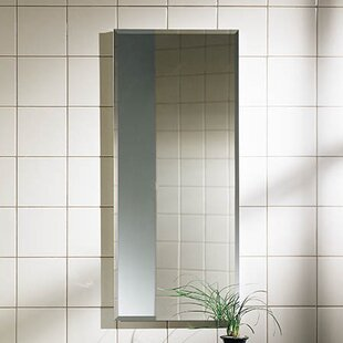 Best Reviews Metro 15.13 x 35.13 Recessed or Surface Mount Medicine Cabinet By Jensen