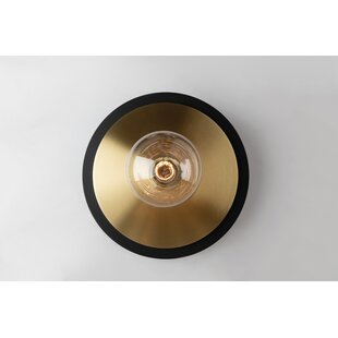 Glenmore 1-Light Semi Flush Mount by Brayden Studio