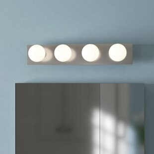 Chaires 4-Light Bath Bar by Wrought Studio
