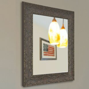 Darby Home Co Brown Frame Wall Mirror