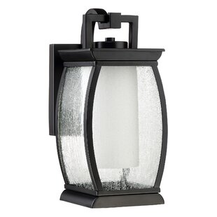 Affordable Price Buntin 1-Light Outdoor Wall Lantern By Mercury Row