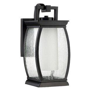 Compare Buntin 1-Light Outdoor Wall Lantern By Mercury Row