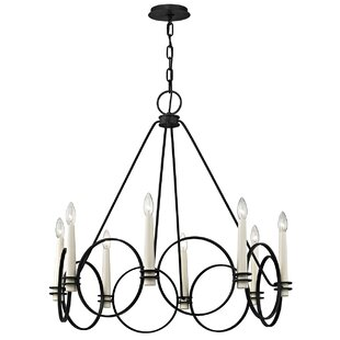 Gracie Oaks Margarito 8-Light Chandelier