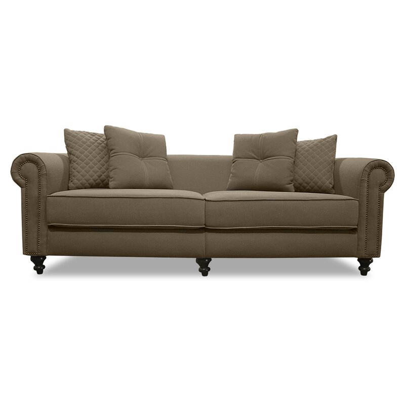 Gautier Lux 100 Rolled Arm Sofa