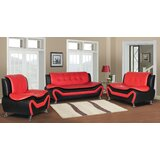 Montenegro 3 Piece Living Room Set by Orren Ellis